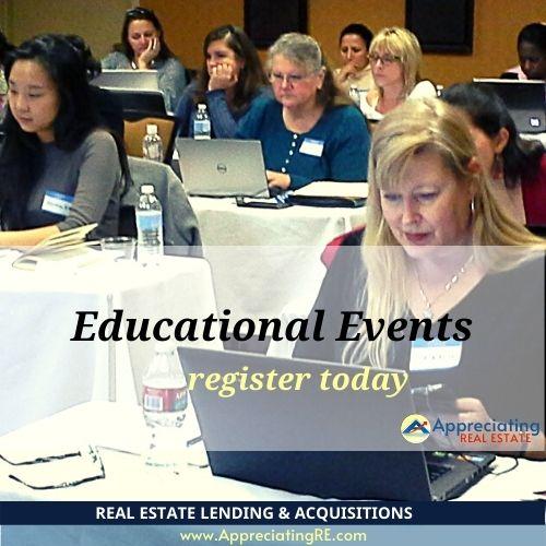 Educational Events at Appreciating Real Estate