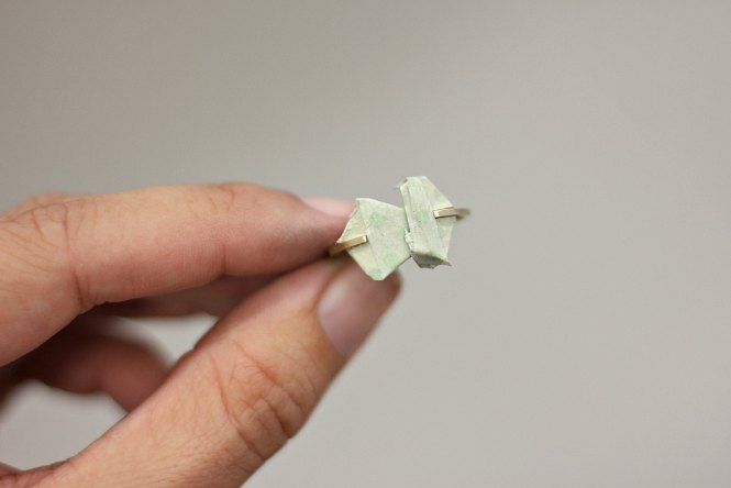 Bague Kandinsky, formes géométriques - Découvrez les étapes de sa fabrication sur www.apprendre-la-bijouterie.com