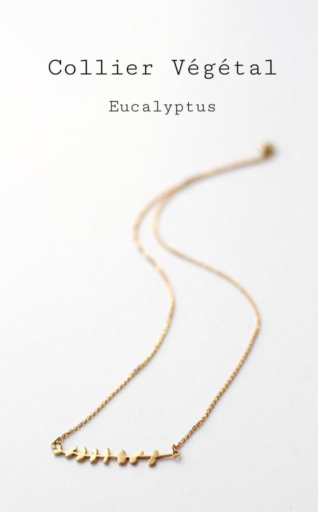 Collier Eucalyptus - Retrouvez les étapes de sa fabrication sur www.apprendre-la-bijouterie.com