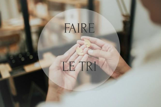 Savoir faire le tri est essentiel dans son processus de création d'une collection de bijoux : pour en savoir plus, rendez-vous sur le blog www.apprendre-la-bijouterie.com !