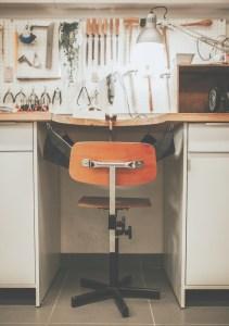 chaise d'établi