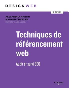 Couverture du livre SEO Techniques de referencement web