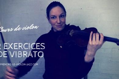cours de violon vibrato