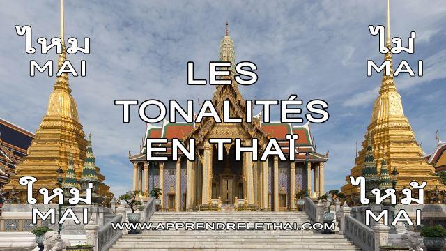 Les Tonalités en Thaï