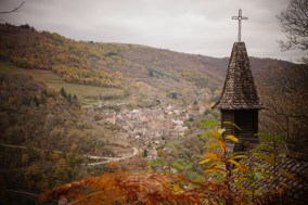 Conques, Aveyron, GR65