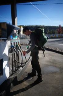 52 centimes d'essence pour notre réchaud