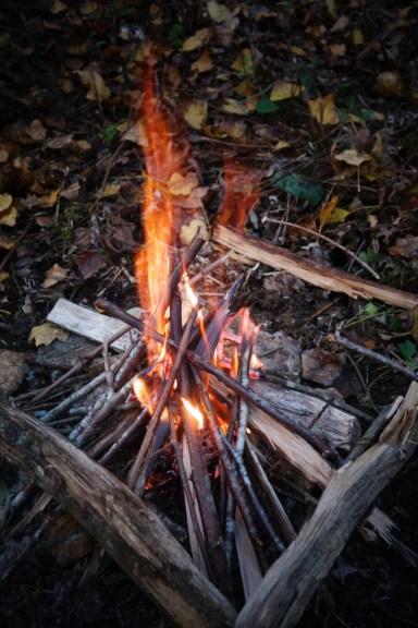 Notre premier feu