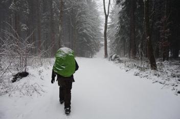 randonnée allemagne neige