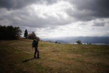 Vue sur le lac Cerknica