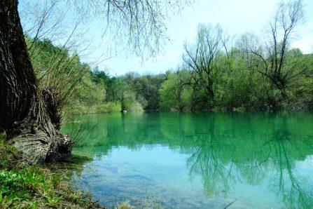 Les bords de la Rivière Korana