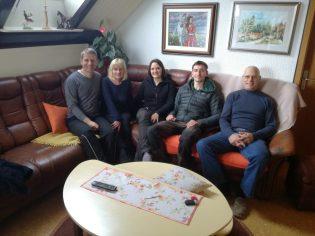Belle rencontre avec Ida, Anton et Tilen