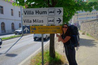C'est parti pour une semaine de marche sur la Ciro Trail