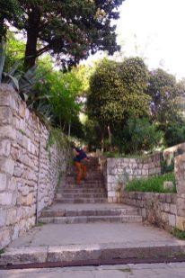 Monter les escaliers sans sac! Le top!