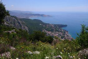 Vue sur la mer Adriatique