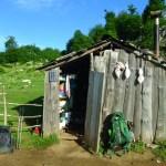 Cabane de berger en Albanie