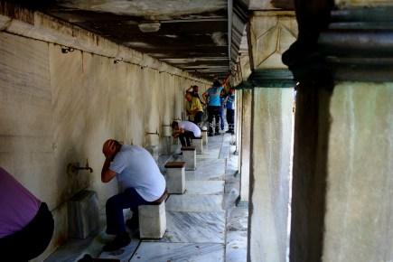 Ablutions, Mosquée Bleue