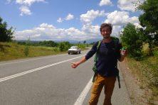 Autostop sur les petites routes grecques