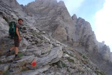 Mont Mytikas, les derniers mètres