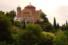 Eglise orthodoxe dans les hauteurs de Thessalonique