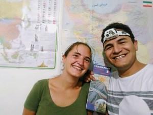Notre cadeau pour Masood : une carte de France