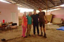 Gunel et Hakim nous accueillent à Ganja