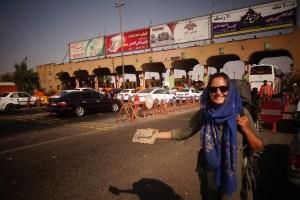 Amélie fait du stop vers Ispahan
