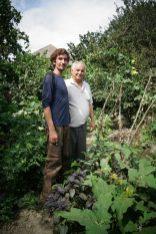 Agaverdi nous fait visiter son jardin