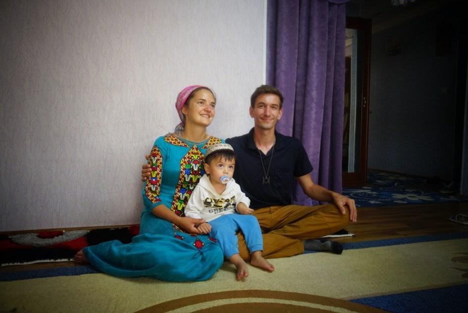 Tenue traditionnelle Turkmène