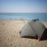 Camping au bord du lac