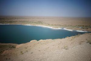 Vue sur le Lac, désert à perte de vue
