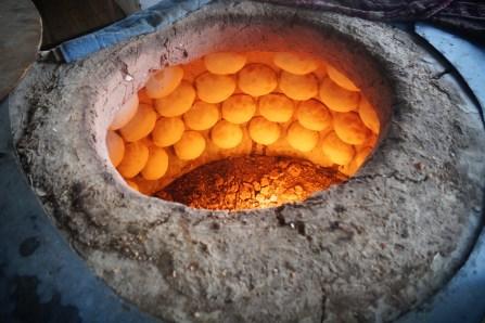 Le four traditionnel à Samsa