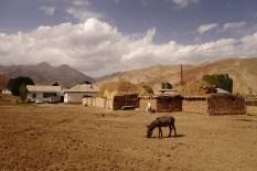 Maisons de terre, Kirghizistan