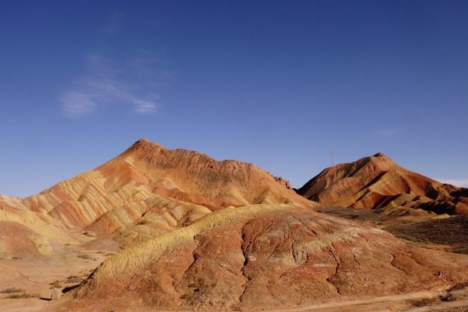 Rainbow mountains - Zhangye