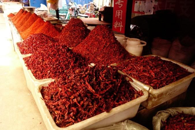 Piments - Lanzhou