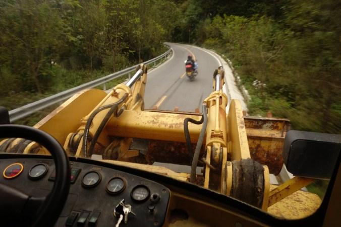 Bulldozer-stop