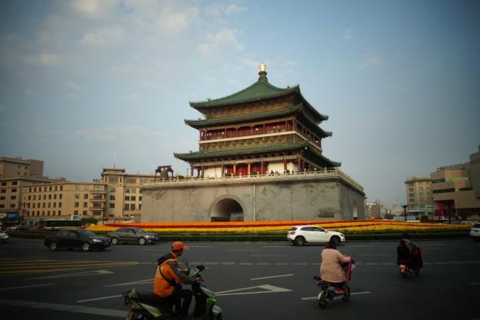 Arrivée à Xi'an