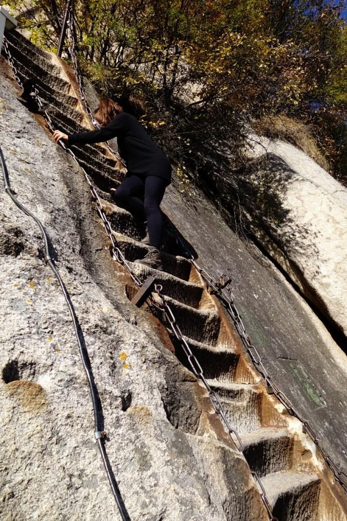 Echelles - Mont Huashan