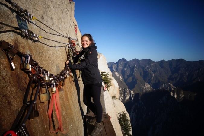 Ne pas regarder en bas - Mont Huashan