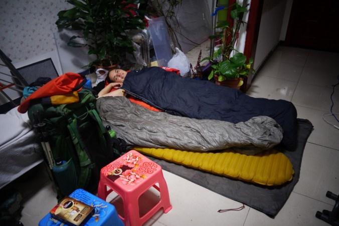 Couchsurfing à Pékin