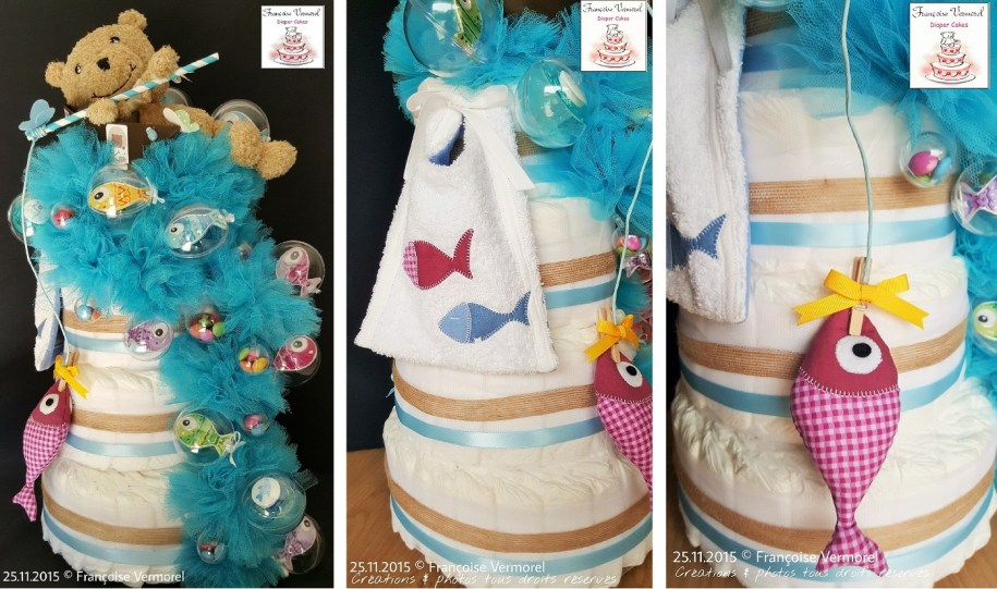 Crédit photo Diaper Cakes Françoise Vermorel