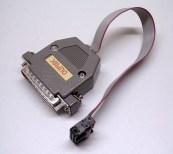 Image of an Olimex AVR-PG2B programmer