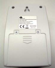 Image of the back of a 1byone Wireless Driveway Alert sensor