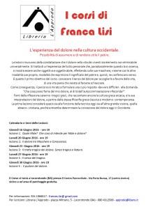 Corso Francesca Lisi - giugno 2016