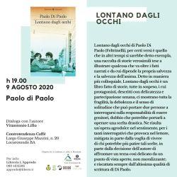 Paolo Di Paolo. Lontano dagli occhi