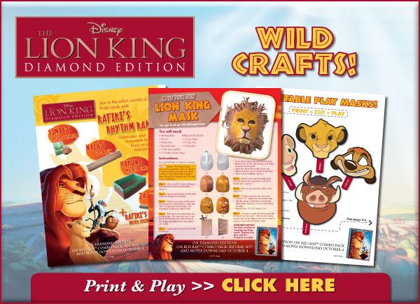 Download WILD Printable Crafts