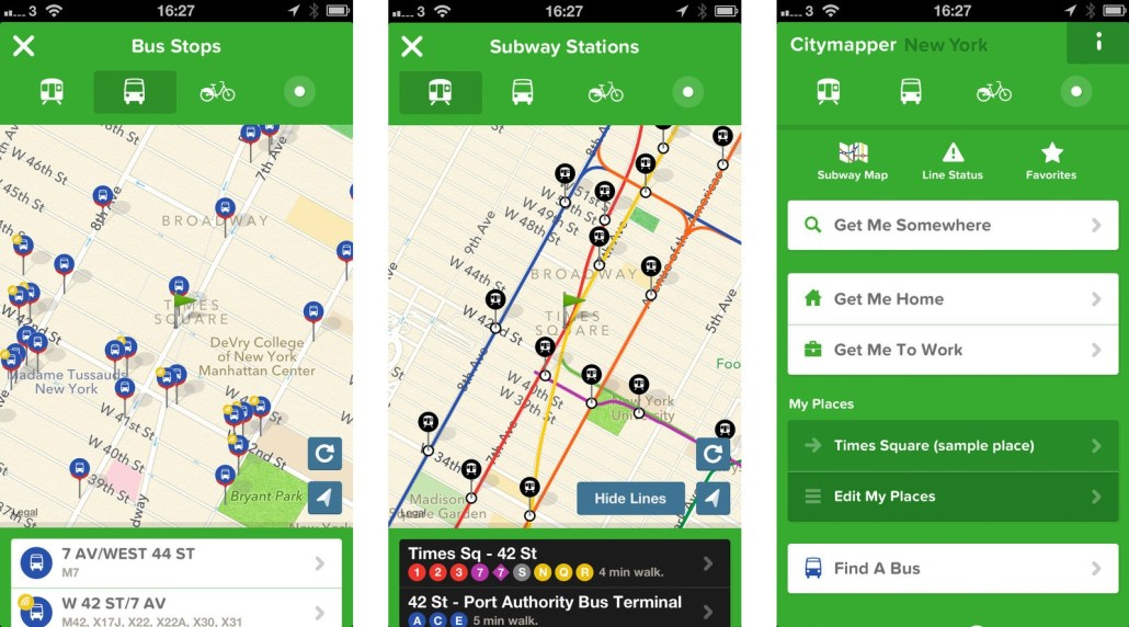 citymapper on iphone maps