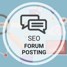 Forum Posting with Backlinks