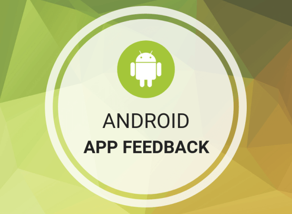 Buy Android App Feedback