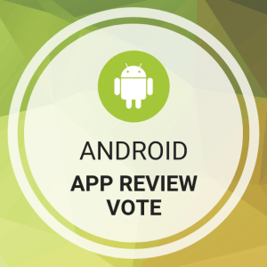 Buy Android App Review Vote