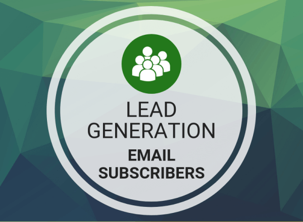 Buy Lead Generation Email Subscribers